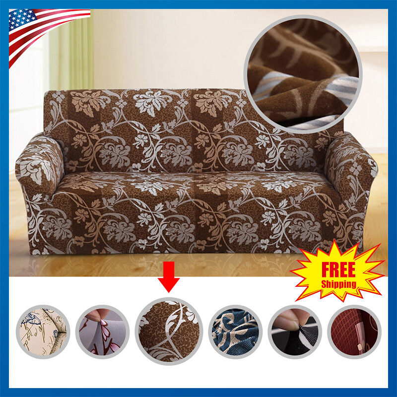 slipcover sofa loveseat chair furniture cover floral