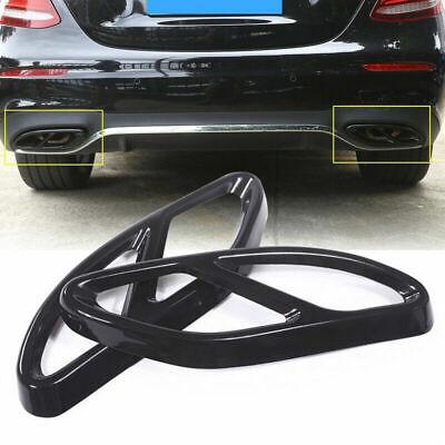 2pcs Auspuffblende Auspuff Abdeckung für Mercedes Benz GLC GLE GLS C E Klasse Y