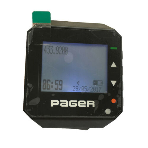 Wrist Pager POCSAG Watch Pager Wireless Waiter Calling System Receiver GP2009W