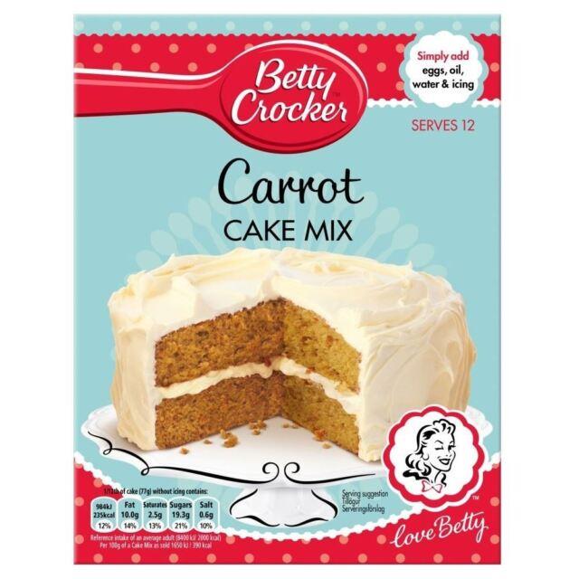 Betty Crocker Carrot Cake Mix (500g)