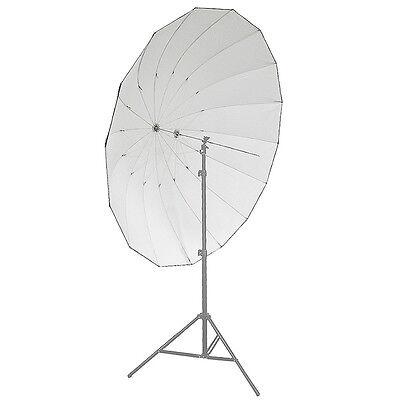"Neewer Studio Pro 16-Rib, 72"" Black and Silver Reflective Parabolic Umbrella USA"
