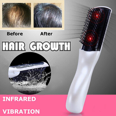 Wireless Laser Infrared Hair Growth Regrowth Therapy Treatment Massage Comb