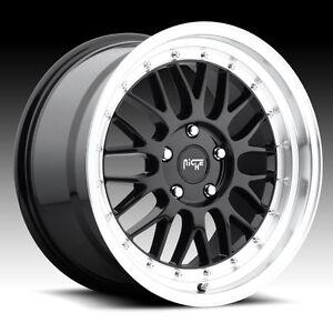 """NEW 18x8.5"""" & 18x9.5"""" Niche Projekt(5x100)-MK4 Golf/Jetta/Subaru"""