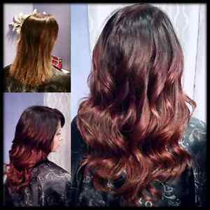 Premium Hair Extensions and Cutting/Coloring/Styling Services Edmonton Edmonton Area image 3
