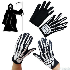2Pcs-Halloween-Gloves-Carnival-Party-Props-Skeleton-Bone-Fuuny-Gloves