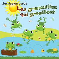 Garderie / Service de garde milieu familial / 7.75$ / Longueuil