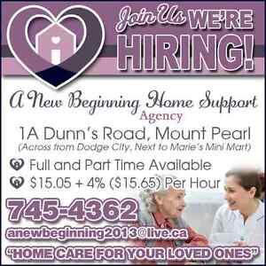 NOW HIRING.... HOME SUPPORT WORKERS!! St. John's Newfoundland image 2