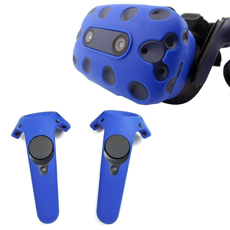 For Htc Vive Pro Vr Virtual Reality Headset Silicone Rubber Vr Glasses Helm J9R2