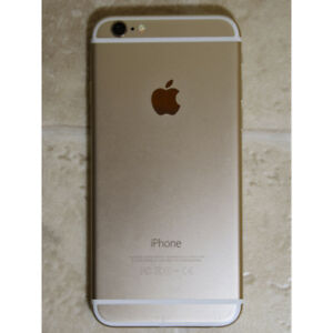 Apple iPhone 6 16GB unlocked used works good white gold color