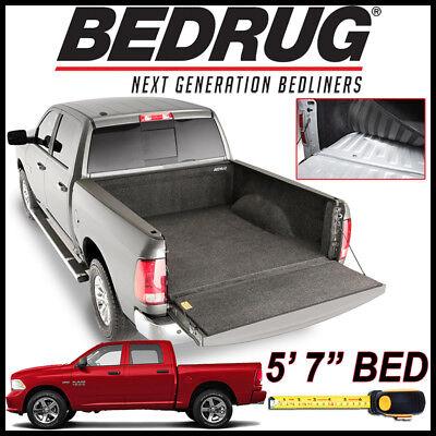 """BEDRUG Custom Fit Carpet Bed Liner Mat fits 2009-2018 Dodge Ram 1500 W/ 5'7"""" BED"""