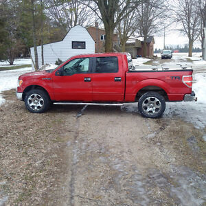 "2010 Ford F-150 SuperCrew XTR only 128 000 kms, 20"" rims"