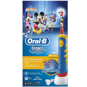 Braun Oral-B Advance Power Kids 950 elektrische Zahnbürste Musik-Timer
