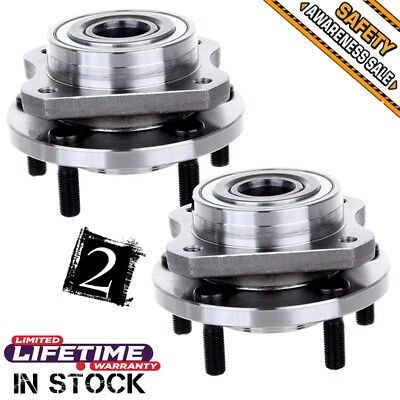 Wheel Bearing & Hub Assembly Front Pair Set for Chrysler Dodge Plymouth