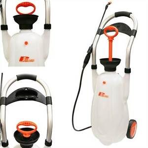 Rhyas Eco Portable Pressure Jet Washer Wheeled Car Sprayer 16L 43 PSI 16 Litre