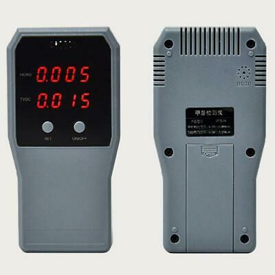 Digital Air Quality Detector Dioxide Co2 Pm2.5 Formaldehyde Meter Led Display