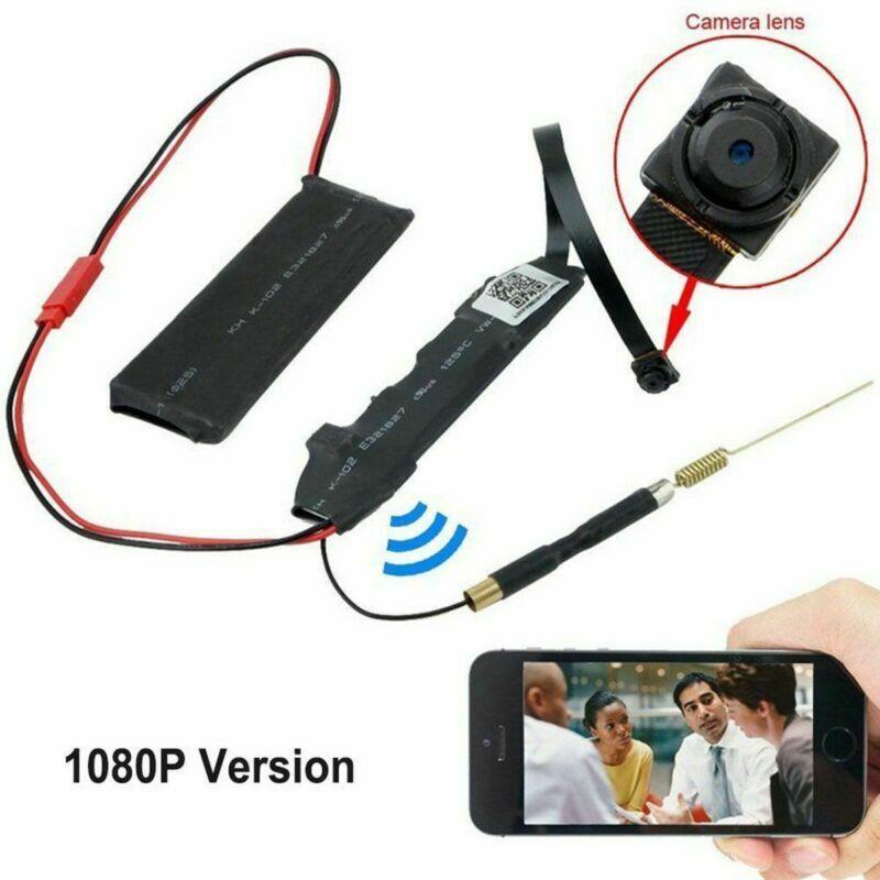 Mini Wireless IP Hidden Spy Camera WIFI HD 1080P For Home Surveillance Cam US