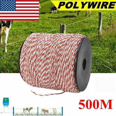 Electric Fence Wire Whitered Stainless Steel Conductive Livestock Fence Roll