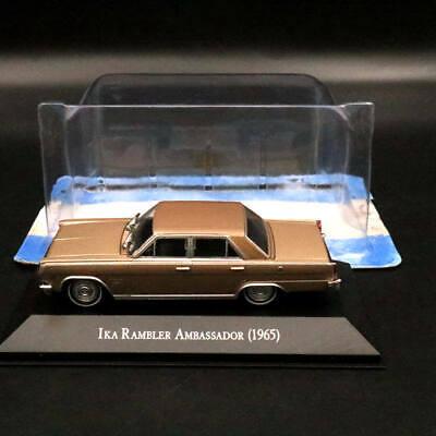 IXO Altaya 1:43 IKA Rambler Ambassador 1965 Jeep 1956 Diecast Models Toys Car