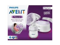 Philips avent breast pump new in box unopened