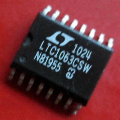 1 Pcs Ltc1063csw Sop-16 Ltc1063 Butterworth Lowpass Filter