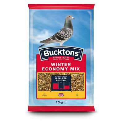 Bucktons Winter Economy Mix Pigeon Food Feed 20kg