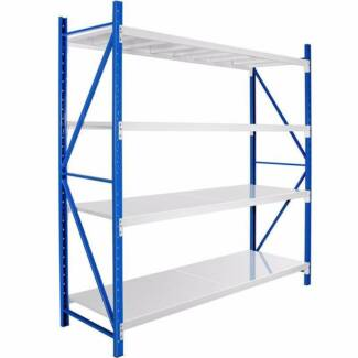 2*2.4M Length Steel Warehouse Racks Storage Shelve Garage Shelf
