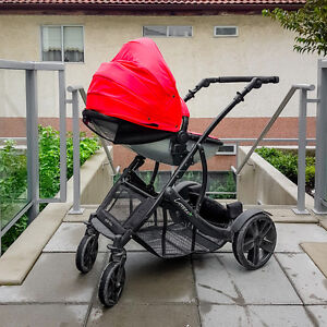 Guzzie and guss connect 4 stroller