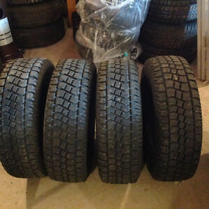 4 255/70/18 Avalanche extreme studded winter tires