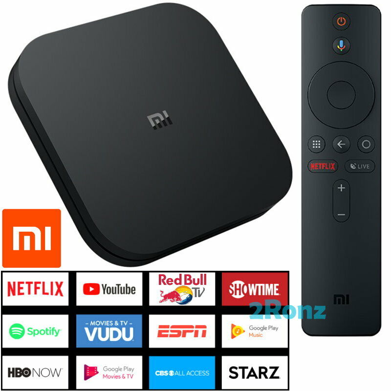 Xiaomi Mi Box S Int 4K HDR 2019 Android TV 8GB Media Android
