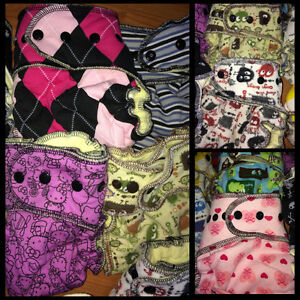 Huge LOT of HIGH END & LIMITED EDITION Cloth Diapers Peterborough Peterborough Area image 2