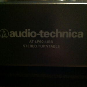 Audio-Technica AT-LP60 Fully Automatic Belt Driven Turntable USB Peterborough Peterborough Area image 6