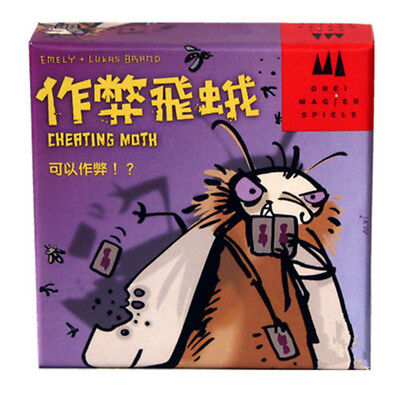 Cheating Moth Board Game 3-5 Players Family/Party Best Gift for Children Box