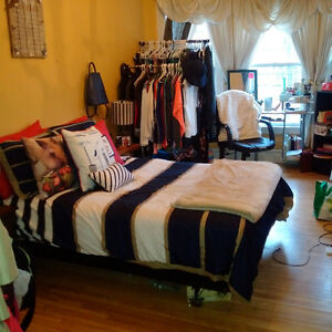Summer Sublet (May-Aug) in South End with Parking