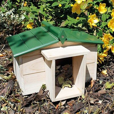 Hedgehog Safe and Secure Habinet House/Home for Breeding and Hibernating