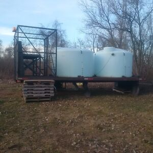 Water/Fertilizer Tanks
