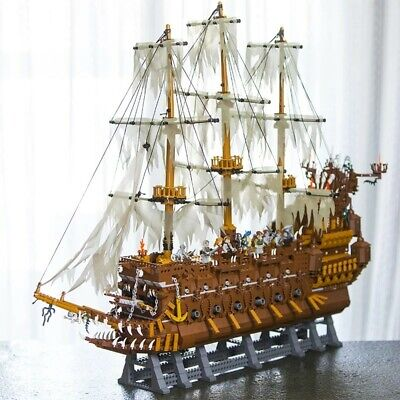 Pirates of the Caribbean The Flying Dutchman  Pirate Ship Legoed Blocks Toys (Caribbean Pirate Kit)
