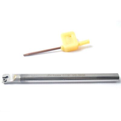 C10k-sclcr06 Solid Carbide Lathe Inner Turning Tool Boring Bar For Ccmt0602 Set