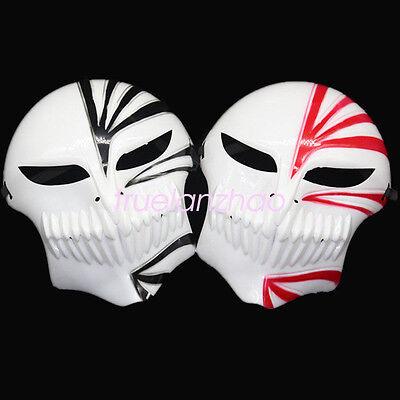 Bleach Ichigo Kurosaki Cosplay Full Hollow  Halloween Mask  2 Color