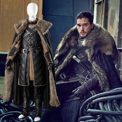 on 7 S7 Stark Jon Snow Cosplay Kostüm (7s Kostüme)