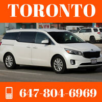 Rideshare Ottawa to Toronto ($35) // EVERYDAY // 647-804-6969