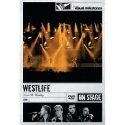 """WESTLIFE """"LIVE AT WEMBLEY"""" DVD 19 TRACKS NEW"""