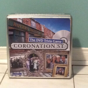 Coronation Street DVD Trivia Game