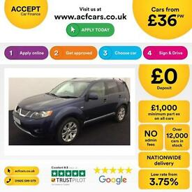 Mitsubishi Outlander 2.0DI-D Elegance FROM £36 PER WEEK !