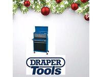 DRAPER 51177 2 DRAWER ROLLER CABINET & 5 DRAWER CHEST