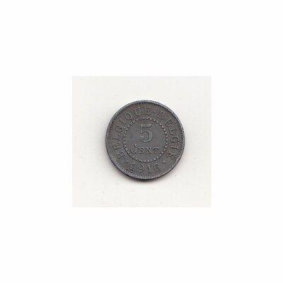 Belgien (deutsche Besatzung) 5 Cents 1916  Nr. #6/43/13