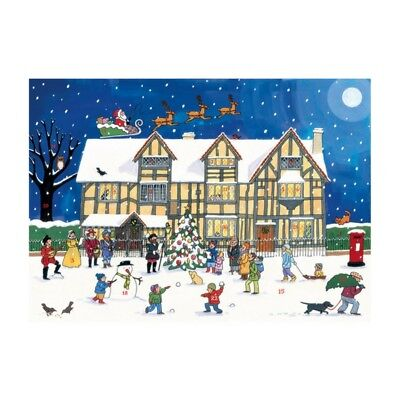 Natale Al Old Town Casa Calendario Avvento Cartone Alison Gardiner