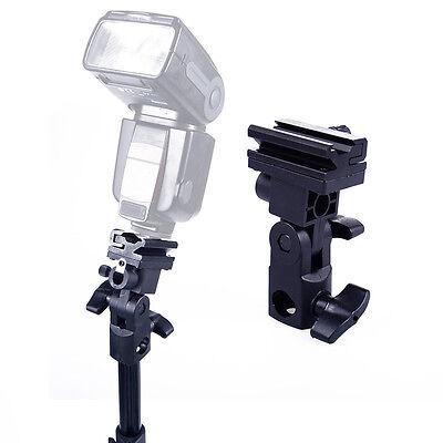 Umbrella Holder Speedlight Flash Bracket Mount 4 Canon Nikon Flashgun Speedlite