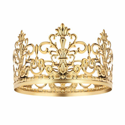 Crown For Cake (BESTONZON 1PC Tiara Crown Gold Elegant Cake Decoration Crown for Party)
