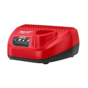 12 volt battery charger for Milwaukee M12 batteries.
