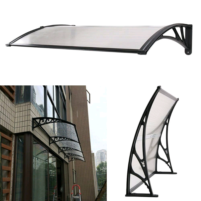 NEW DOOR CANOPY AWNING SHELTER FRONT AND BACK DOOR AWNING POLYCARBONAT | in  Bradford, West Yorkshire | Gumtree